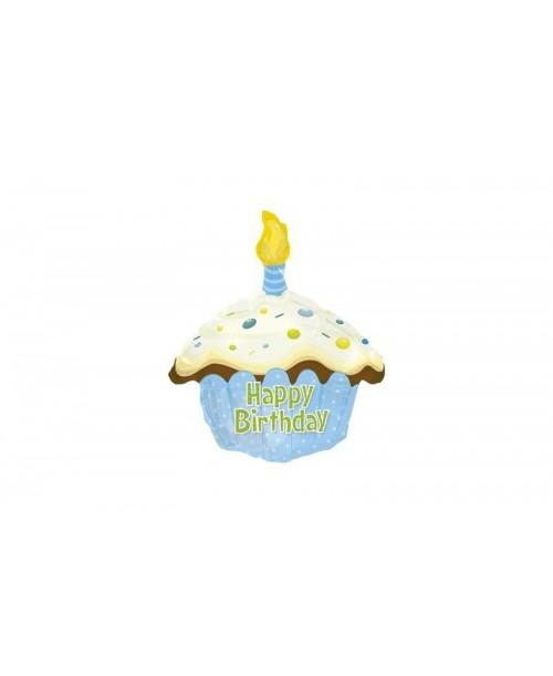 Globo Feliz Cumpleaños Cupcake Foil
