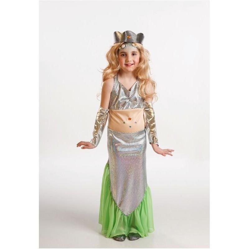 Disfraz de Sirenita Infantil