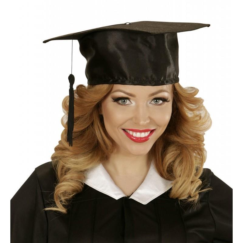 Sombrero Graduado en Raso