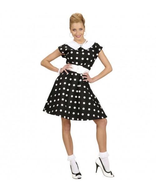 Vestido Mujer de los Años 50