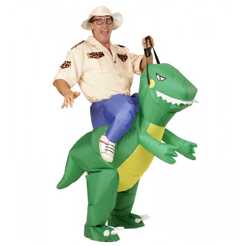 disfraz de dinosaurio hinchable casa del disfraz