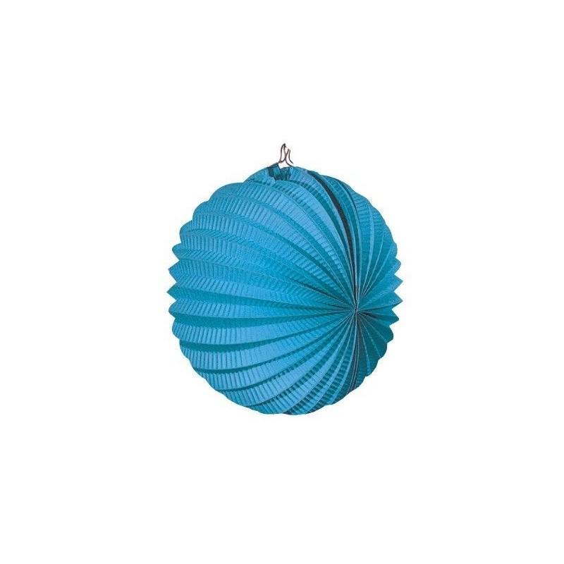 Farol Esférico Azul Celeste