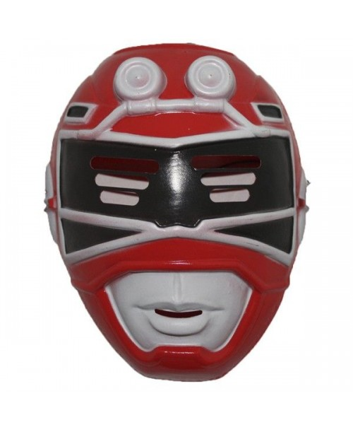 Máscara de Power Ranger Rojo