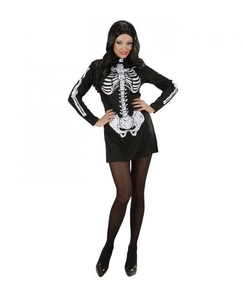 Disfraz de Esqueleto Mujer