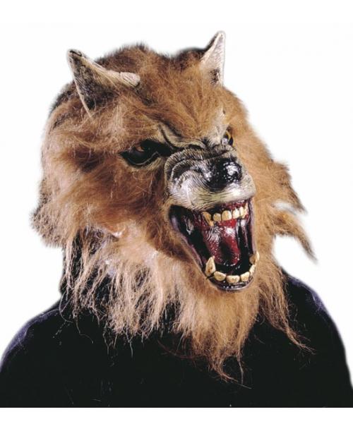 Máscara Media Cara Hombre Lobo