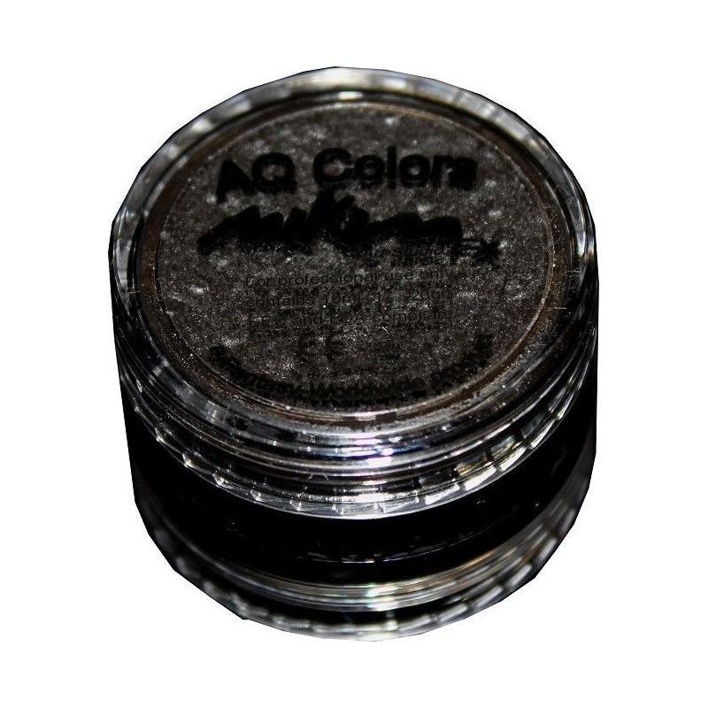 Maquillaje al Agua Negro