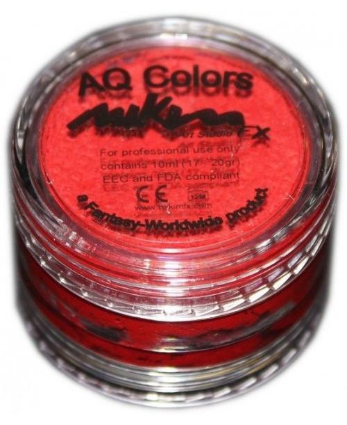 Maquillaje al Agua Rojo Frio