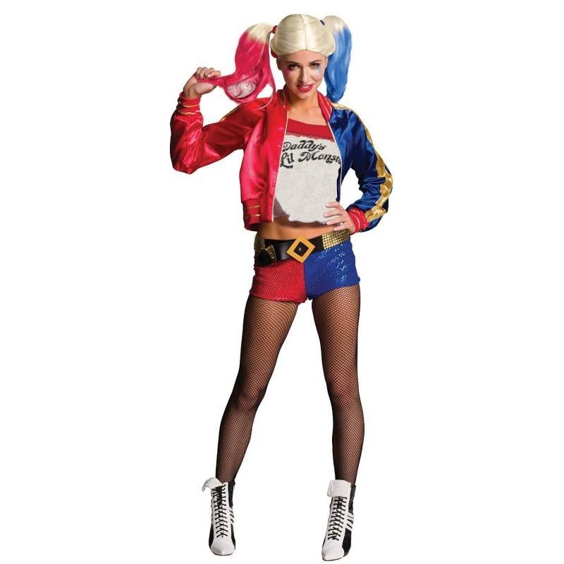 Disfraz de Harley Queen de Escuadron Suicida para Adulto
