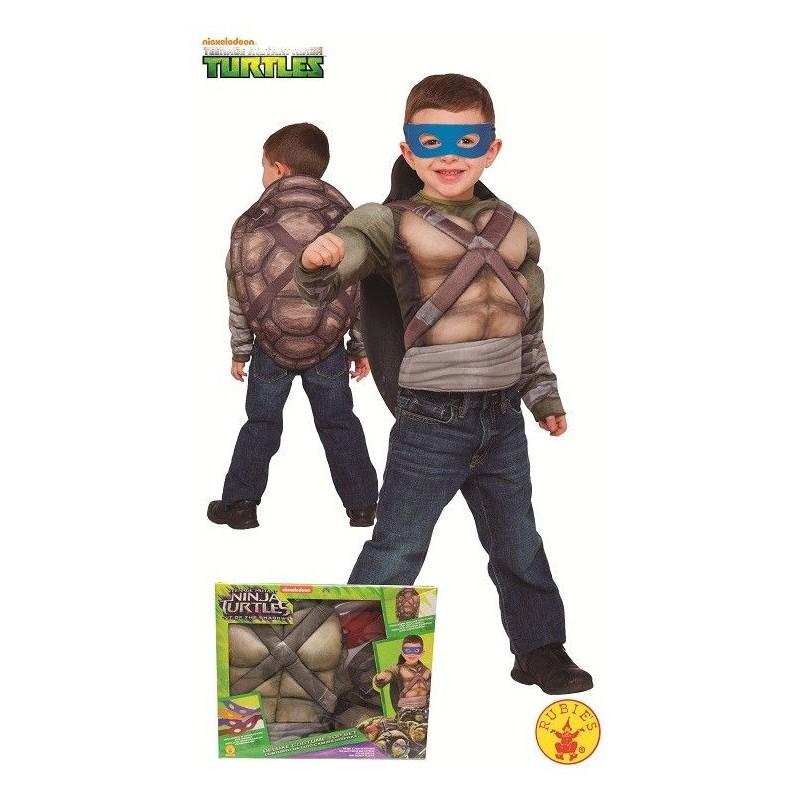 Disfraz de Tortuga Ninja  2 Pecho Músculoso en Caja