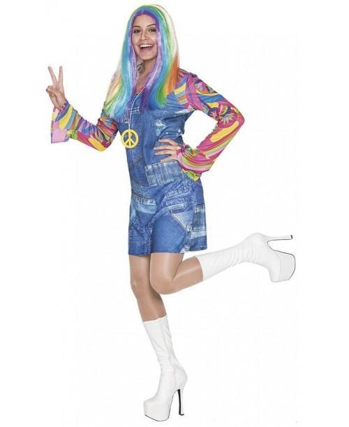 disfraz Hippie Vaquera