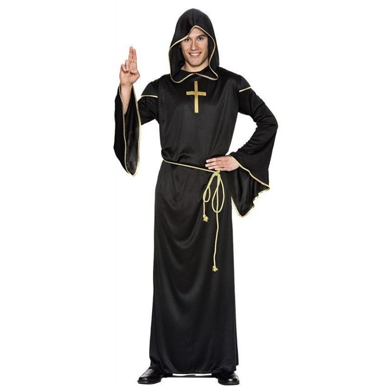 Disfraz  de Religioso Adulto