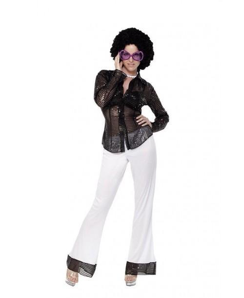 Disfraz Chica disco Lentejuelas
