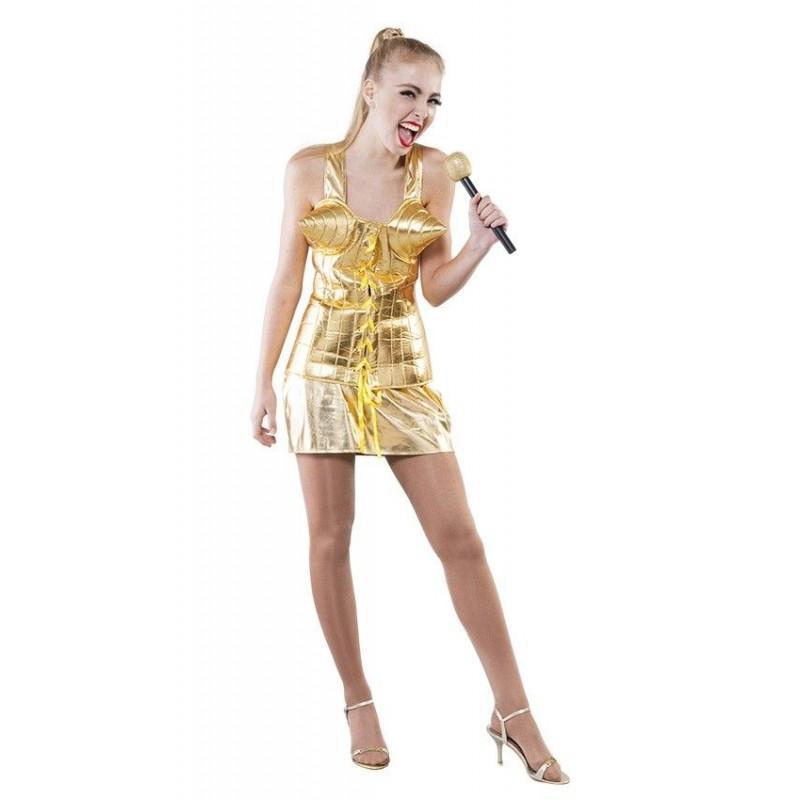 Disfraz de  Reina del Pop Adulto