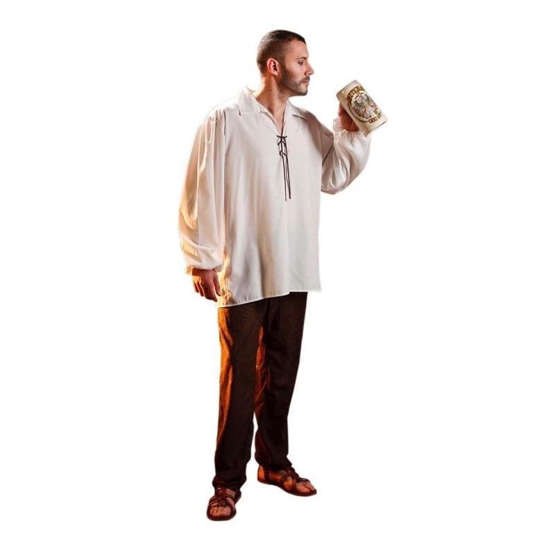 Disfraz de Camisa Medieval Adulto