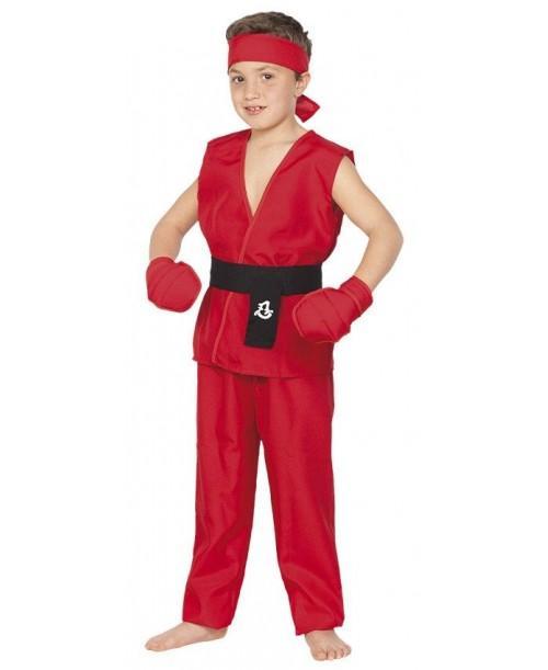 Disfraz de Guerrero Kung Fu Infantil
