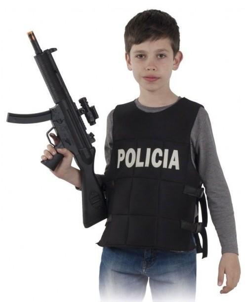 Chaleco Policia Infantil