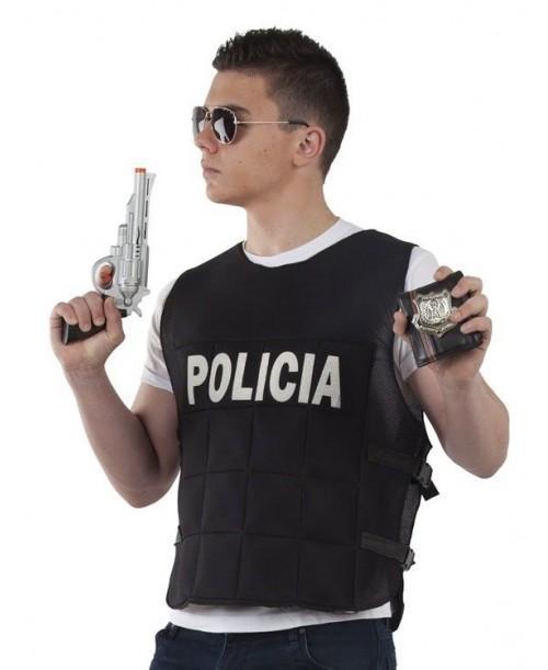 Chaleco Policia Adulto