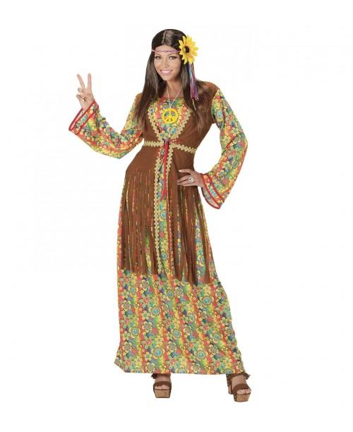 Disfraz de Hippie Mujer