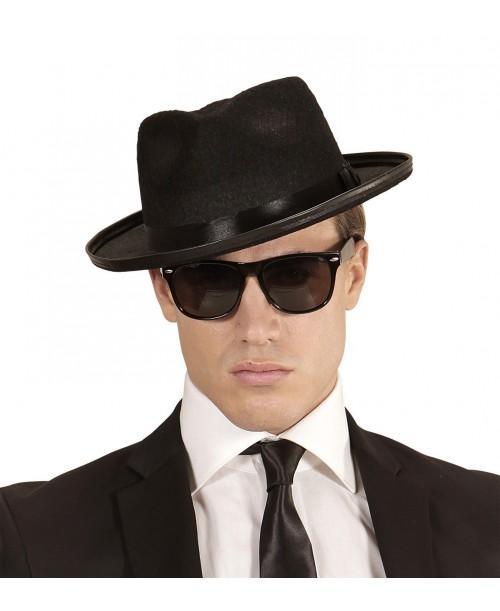 Sombrero de Blues con Gafas