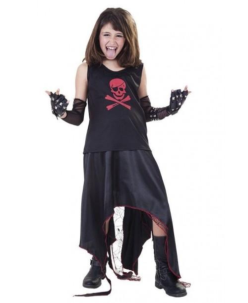Disfraz de Niña Punk