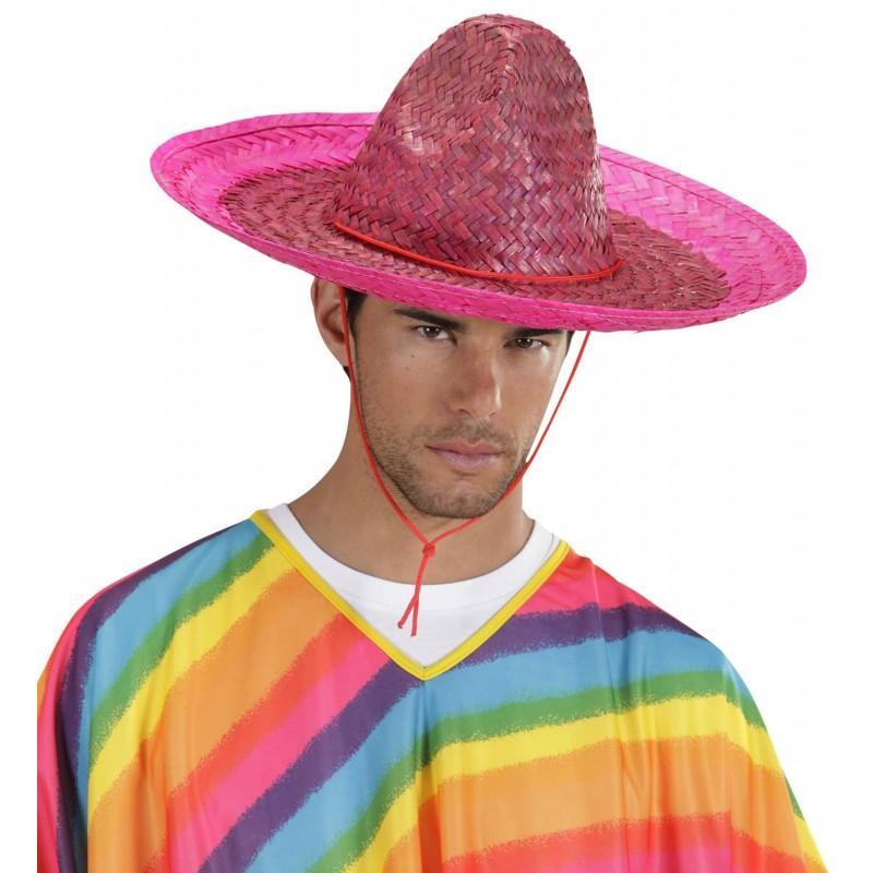 Sombrero Mejicano Rosa