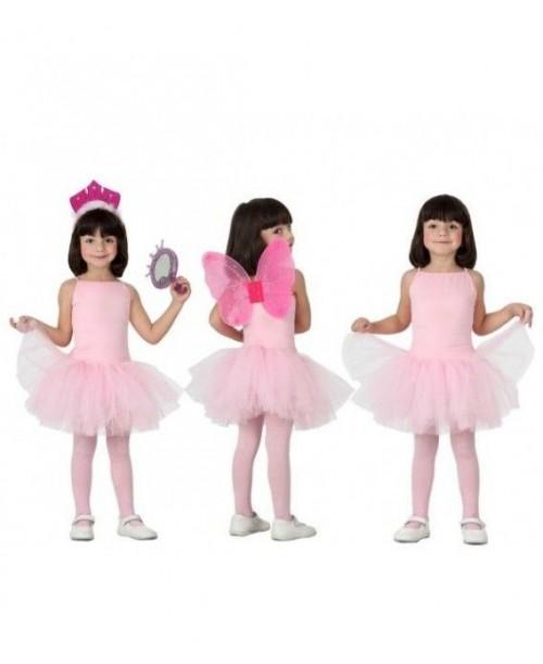 Disfraz de Bailarina Rosa Niña