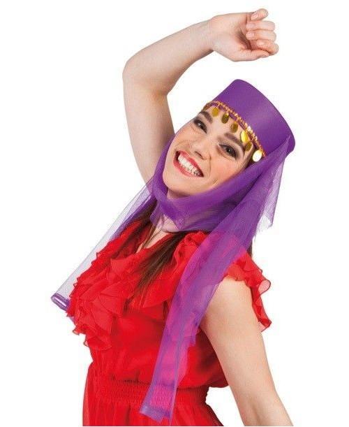 Sombrero Árabe Violeta