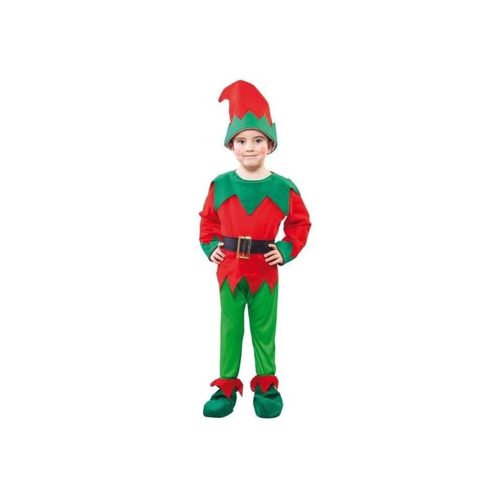 Disfraz de elfo para ni os disfraces ni os para carnaval - Disfraces duendes navidenos ...