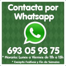 Contacto de Whatsapp para comprar Disfraces Online