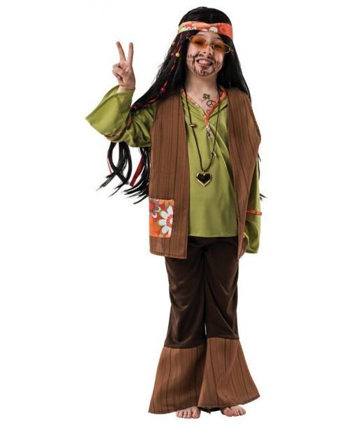 Disfraz hippy