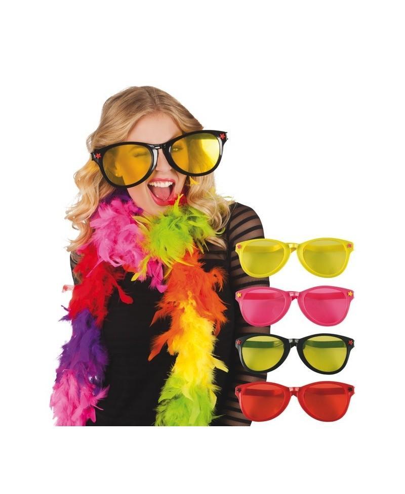 495437be8d Gafas Gigantes 4 Colores Surtidos - Casa del disfraz®