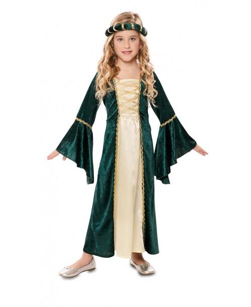 Disfraz Dama Medieval Niñas