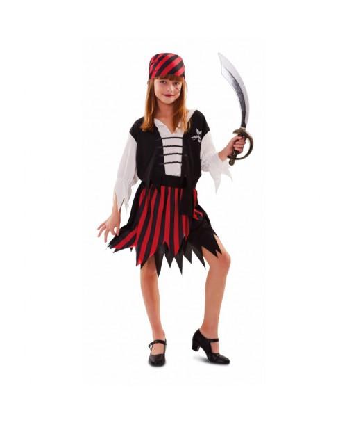 Disfraz de Gran Pirata Chica