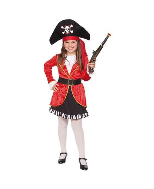Disfraz de Pirata niña