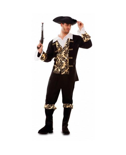 Disfraz de Pirata dorado
