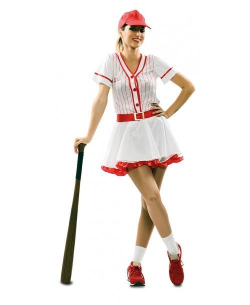Disfraz de chica beisbol