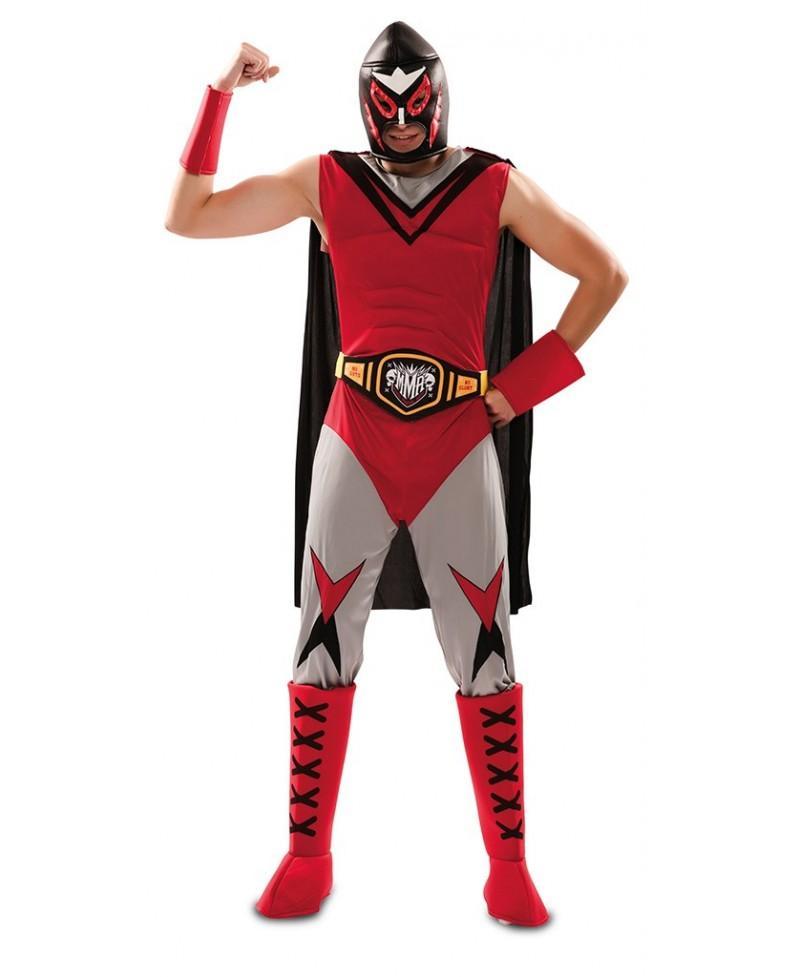 Disfraz de Campeón lucha libre