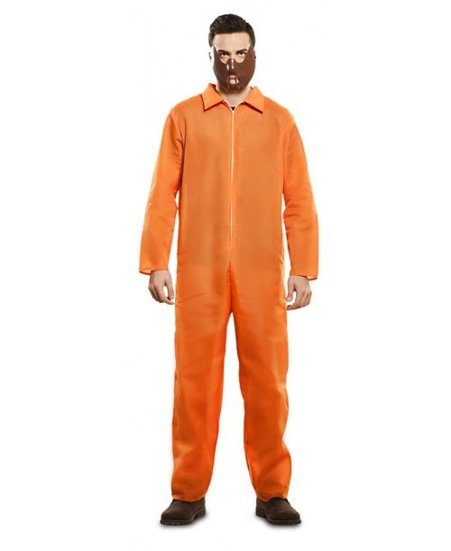 Disfraz de prisionero naranja