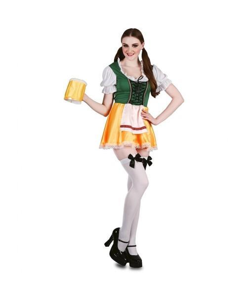 Disfraz de chica cerveza