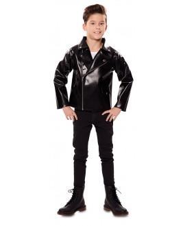 Disfraz chaqueta polipiel niños