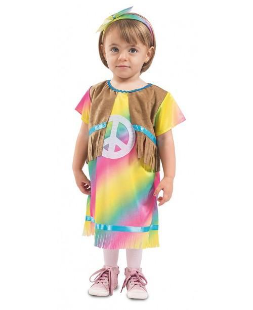 Disfraz de hippie bebé