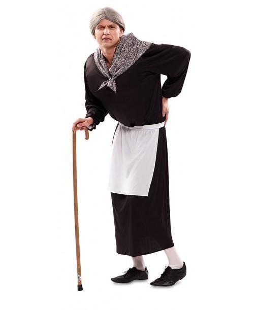 Disfraz de vieja cotilla