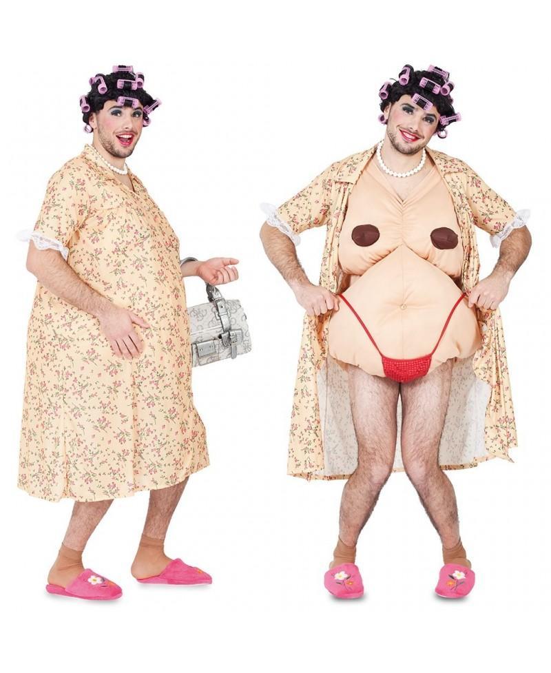 Disfraz de mujer exhibicionista