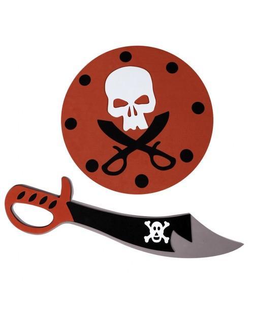 Espada y Escudo Pirata Eva