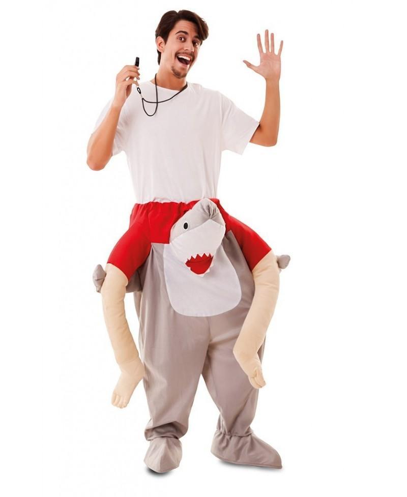 Disfraz de Tiburón para Adulto