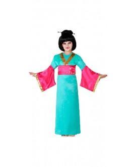 Disfraz de geisha niñas