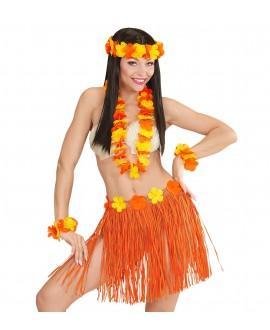 Set Hawaii Naranja