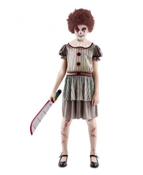 Disfraz de Payasa Diabólica