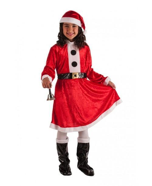 Disfraz Infantil de Mama Noel