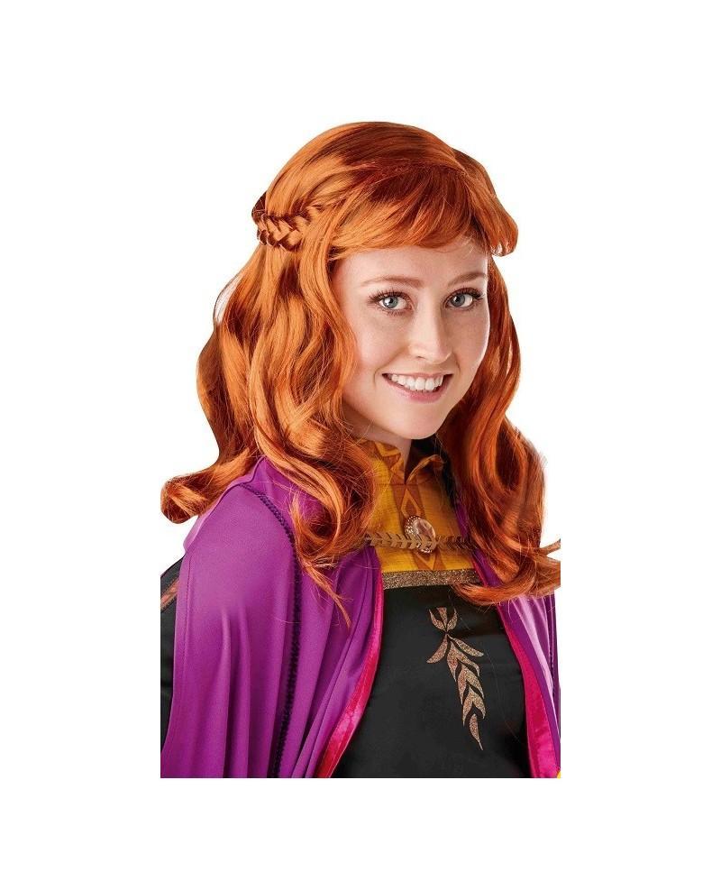 Peluca Anna Frozen2